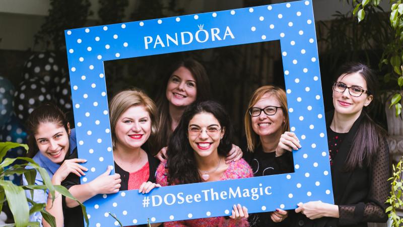 Magia PANDORA DISNEY a ajuns în România