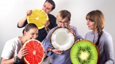 Fruitables înseamnă mobilă, pepeni și poate și șosete