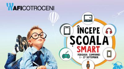 Incepe scoala SMART cu AFI Cotroceni