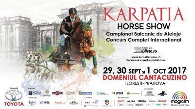 Karpatia Horse Show 2017: Pasiunea pentru echitație, regăsirea eleganței evenimentul ideal pentru a petrece un weekend memorabil