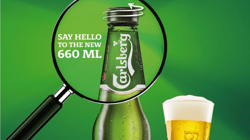 Carlsberg lansează în România o nouă sticlă de 660 ml cu capac filetat, perfectă pentru a fi savurată împreună cu prietenii