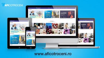 Noul site AFI Cotroceni - o experiență online completă pentru clienți