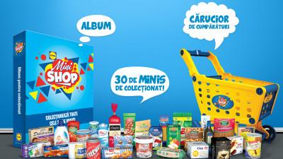 Lidl lansează campania Lidl Mini Shop și îi provoacă pe clienți la joacă