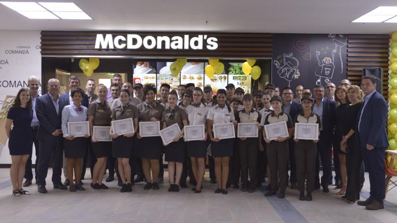 Se deschide un nou restaurant McDonald's în Bacău, în urma unei investiții de 2,5 milioane de lei