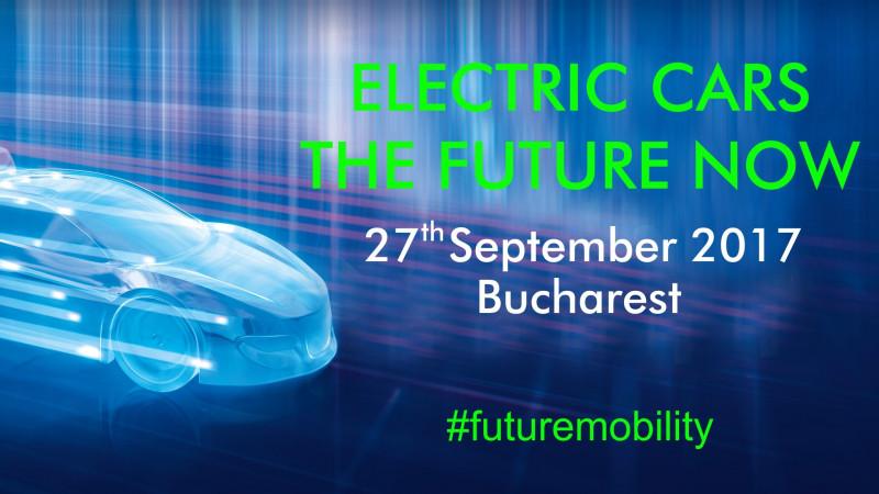"""Ultimele noutăți din domeniul electro-mobilității vor fi prezentate la conferința """"Electric Cars – The Future Now"""""""