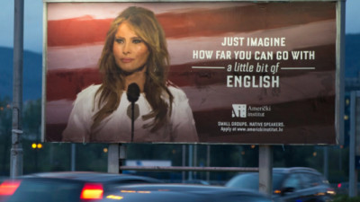 N-o sa ai banii Melaniei Trump, dar o poti concura la engleza. Nesumnjivo!