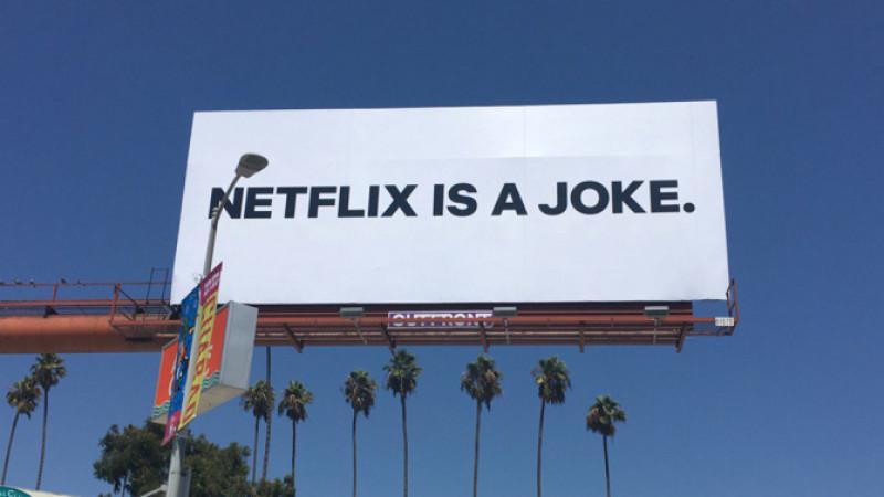 Netflix este o glumă?
