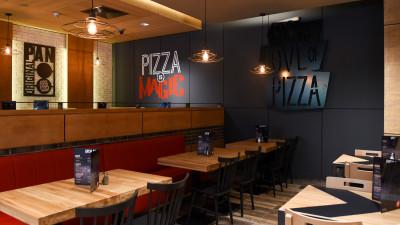 #NoulPizzaHut #Dorobanti: design urban, industrial și noi preparate în meniu - spațiul perfect pentru ieșirile cu prietenii