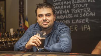 """Razvan Costache, bautor si povestitor de bere buna: Consumatorii sunt confuzi, lucru de care profita mastodontii de bere macro cu sloganuri de genul """"craft quality beer"""""""