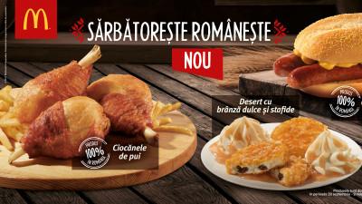 McDonald's sărbătorește românește începând cu 29 septembrie