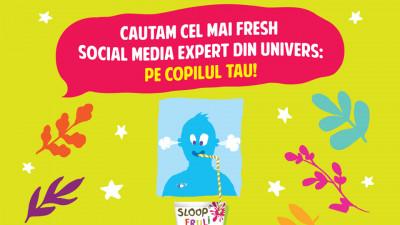 Sloop cauta social media expert printre copii