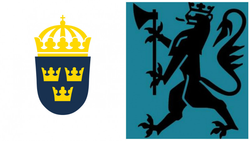 Ambasada Suediei la Bucuresti face glume cu Ambasada Norvegiei la Bucuresti