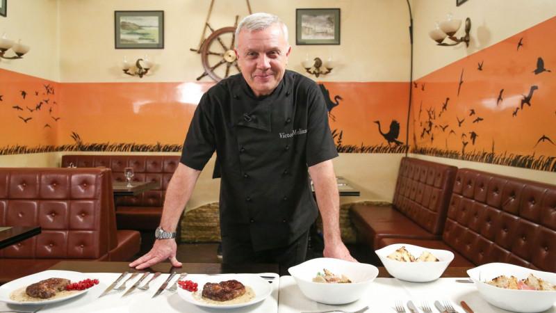 [Gustul pasiunii] Victor Melian, bucătarul crescut între kalareica moscovită și covrigul sărat de la București
