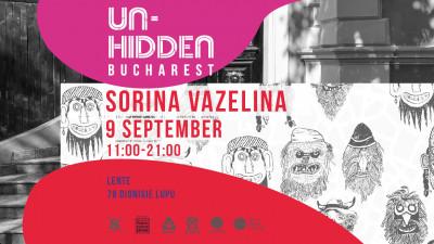Un-hidden Bucharest – 3 noi intervenții artistice și o călătorie ghidată prin arta din spațiul public