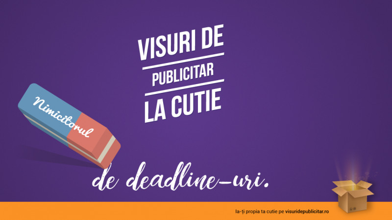 """Tu la ce visezi printre deadline-uri și litri de cafea? Campania """"Visuri de publicitar la cutie"""" ne provoacă să visăm frumos"""