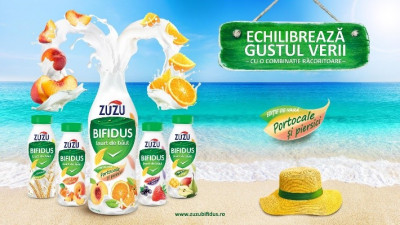 """Zuzu Bifidus echilibreaza gustul verii"", o campanie marca The Mansion Advertising"