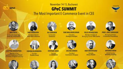 """Peste 30 de speakeri excepționali vorbesc la GPeC SUMMIT pe 14-15 noiembrie, București: """"Probabil, cel mai bun line-up în 12 ani de GPeC"""""""
