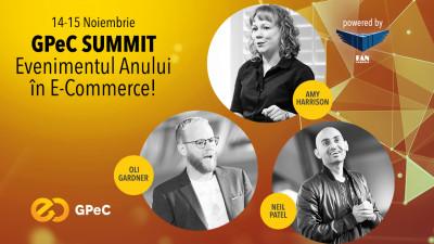 Peste 30 de speakeri excepționali vorbesc la GPeC SUMMIT pe 14-15 noiembrie, București