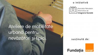 Se deschide primul Club de Mobilitate Urbană pentru nevăzători și tipici, pentru un viitor #BucureștiIncluziv
