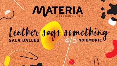 MATERIA își propune să susțină comunitatea creativilor din domeniul pielii