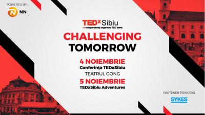 TEDxSibiu Challenging Tomorrow va avea loc în data de 4-5 noiembrie