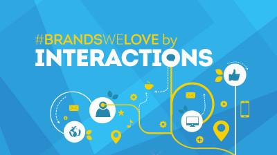 #BrandsWeLove by Interactions, un an și 51 de postări mai târziu