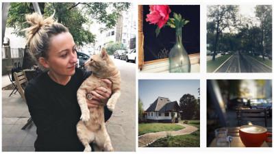 [#Instagrammer #nofilter] Roxana Bursuc: Sunt obsedată de cafea și de locurile în care se bea cafea, de uși închise și de pisici
