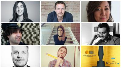 Melanj de 8 creativi din (mai) toate colturile lumii. Juriul complet al festivalului local de creativitate Premiile FIBRA, editia a doua