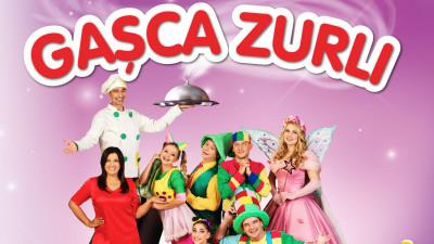 Gașca Zurli și Șervețelul Carolino își propun să-i împrietenească pe copii cu mâncarea bună și statul la masă
