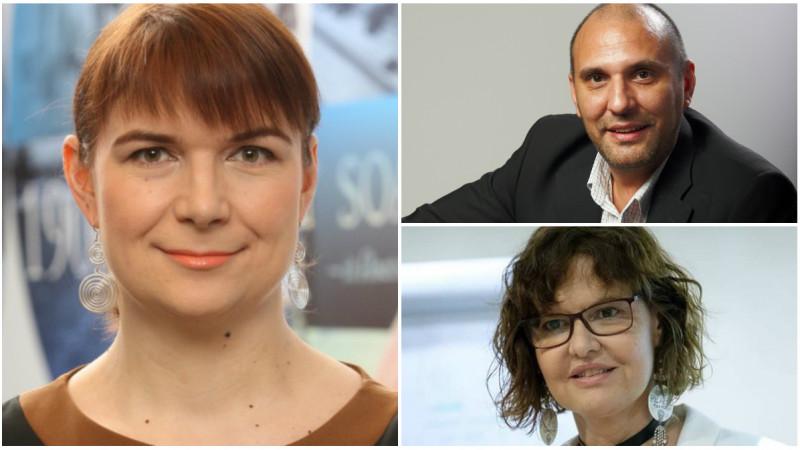 Punand la cale Conferinta Globala IAA la Bucuresti. Victor Dobre, Diana Flutur si Maria Predoiu (IAA Romania) povestesc