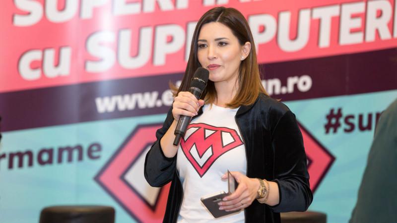 """Ela Crăciun susține campania """"Grădinițe fără bullying"""" într-un nou eveniment pentru Super mame cu Super puteri"""