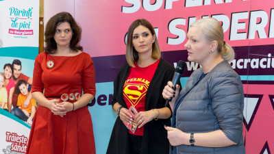 """Ela Crăciun a militat pentru """"Grădinițe fără bullying"""" în a 5-a ediție a campaniei Super mame cu super puteri"""