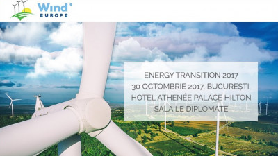 RWEA și WindEurope organizează Energy Transition 2017