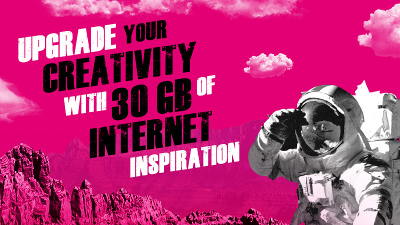 Telekom packs you up with a 30 GB worth of knowledge!
