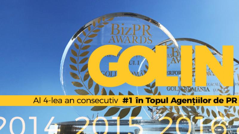 Golin își menține poziția de lider în cea de-a IV-a ediție a Topului Agențiilor de PR, realizat de Biz & Unlock