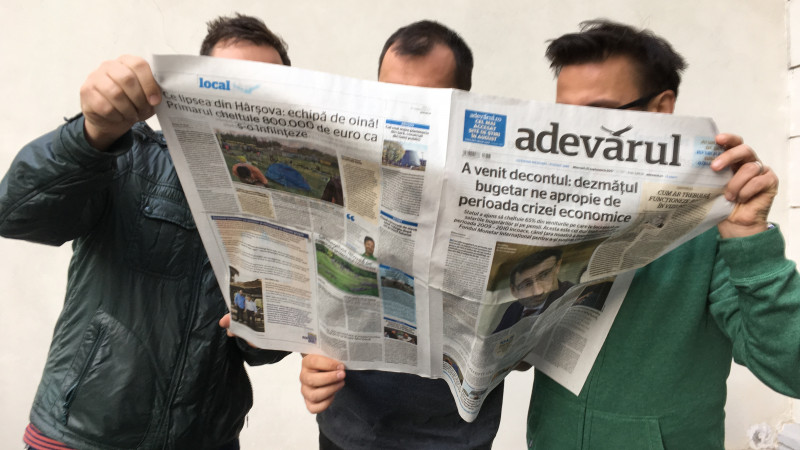 Pentru relansarea ziarului Adevărul, Propaganda s-a transformat din agenție în redacție