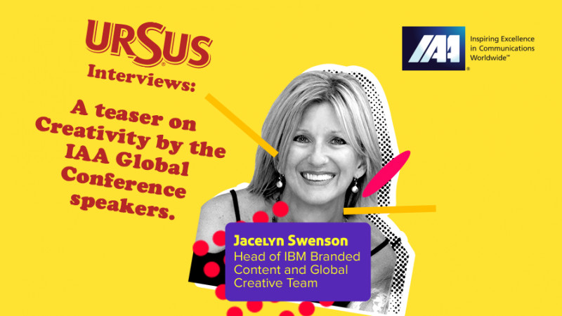 """A teaser on Creativity by Jacelyn Swenson presented by Ursus. """"Everyone is creative in different ways. It's important to provide them the space and support they need to nurture their creativity"""""""