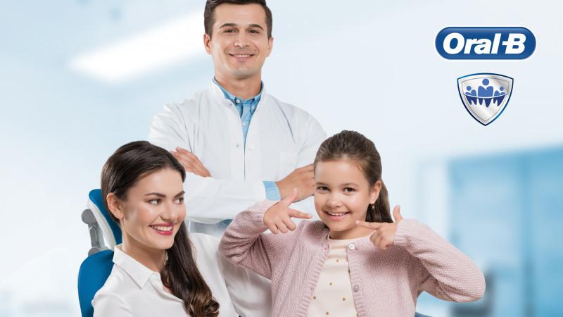 Consultații și detartraje gratuite în peste 40 de clinici stomatologice în luna Oral-B