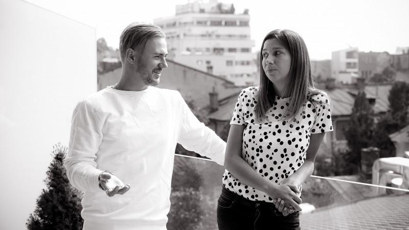"""Noua conducere a creației GMP Advertising. Matei Curtașu și Olivia Bașag: """"Amândoi purtăm banderola de căpitan pe toate conturile"""""""