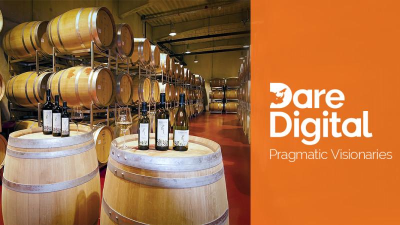 O nouă imagine pentru LacertA Winery, marca Dare Digital