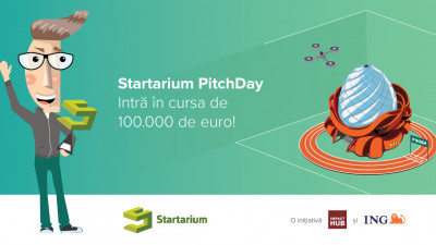 Startarium dă startul PitchDay 2017: începe cursa de 100.000 de euro, proba pe startup-uri