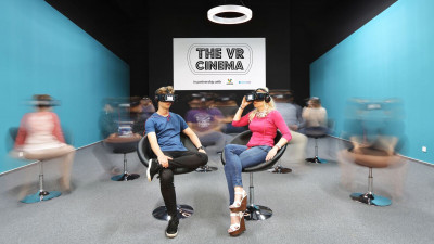 The VR Cinema din Veranda Mall a găzduit un eveniment cu Jenna Pirog, editor The New York Times VR
