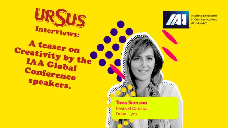"""A teaser on Creativity by Thea Skelton presented by Ursus. """"There is a new breed of creativity produced by the new generation of creatives - the New Work"""""""
