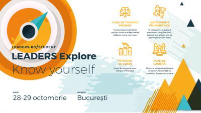Fundația LEADERS lansează programul LEADERS Explore pentru studenți în universitățile din București