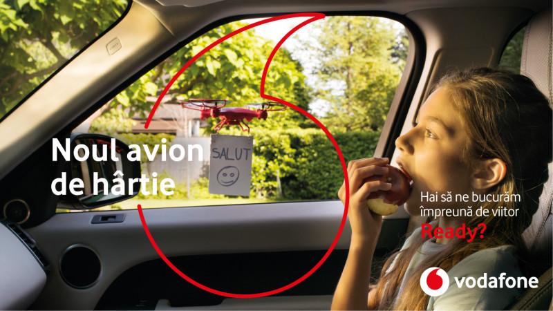 Vodafone România lansează o campanie de repoziționare de brand