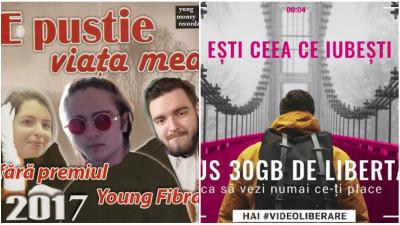 [Hai #NETLIBERARE la content video] Campanii pentru PornHub, o papetărie și o shaormerie. Dar, pentru Ioana, Alin și Andrei, mai întâi Young FIBRA