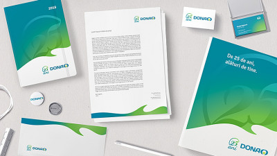 Farmacia DONA - 25 ani - Stationery_1