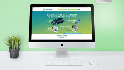 Farmacia DONA - 25 ani - Landing page