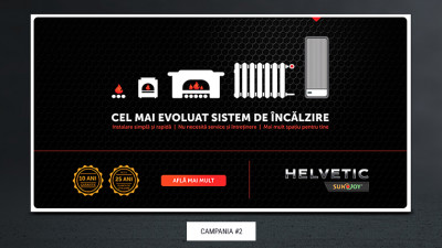 Helvetic Sunjoy - Vizual campanie