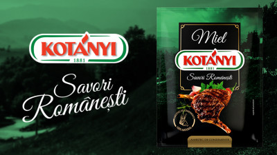Kotanyi - Savori romanesti - Branding categorii